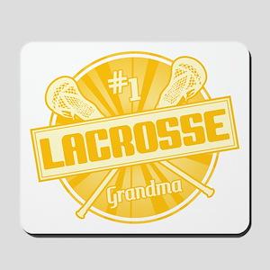 #1 Lacrosse Grandma Mousepad