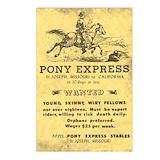 Pony express Postcards