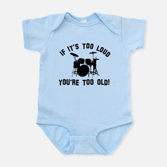 Drum Vector designs Infant Bodysuit