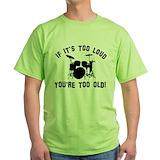 Drummers Green T-Shirt