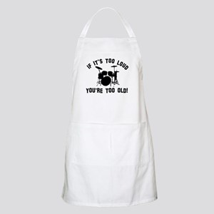 Drum Vector designs Apron