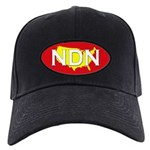 NDN Native American Indian Black Cap