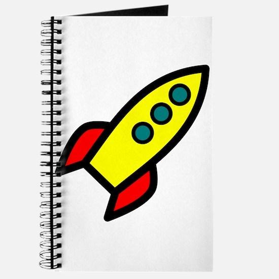 yellow rocket Journal