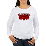 Australian Fighter MMA Women's Long Sleeve T-Shirt