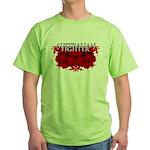 Australian Fighter MMA Green T-Shirt