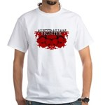 Australian Fighter MMA White T-Shirt