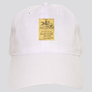 Pony Express Poster Baseball Cap