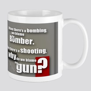 Blaming the gun? Mug