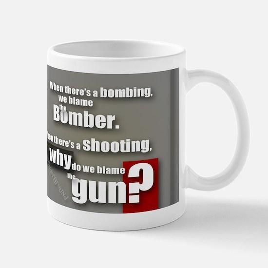 Blaming the gun? Mug
