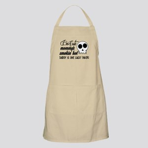 Smokin' Hot Mommy, Lucky Biker Daddy Apron