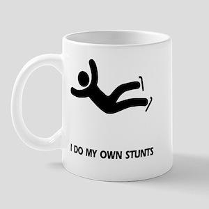 Ice, Figure Skating Stunts Mug