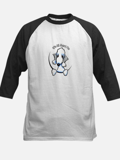 Bedlington Terrier IAAM Logo Baseball Jersey