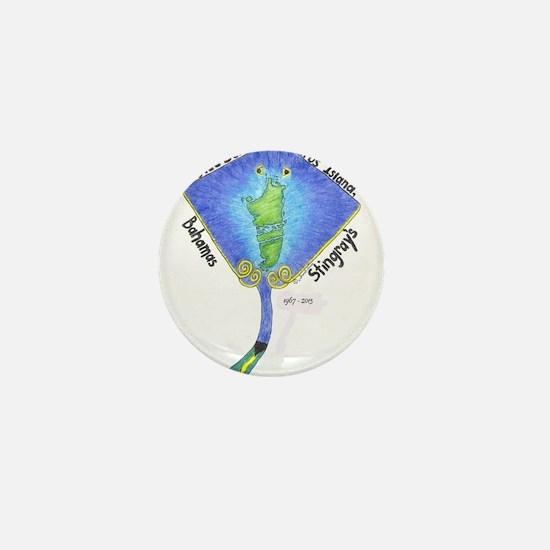 AUTEC School Stingrays Mini Button