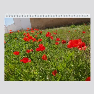 Beautiful Flowers Wall Calendar