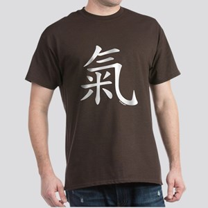 """Chi"" Chinese Calligraphy Dark T-Shirt"