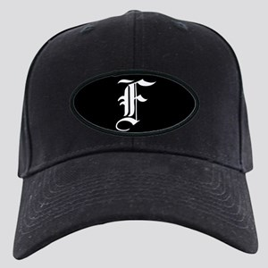 Gothic Initial F Baseball Hat d8e91cafd23