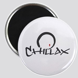 Chillax with Enso Open Circle Magnet