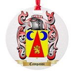 Campassi Round Ornament