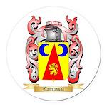 Campassi Round Car Magnet