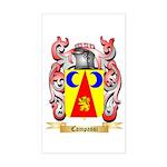 Campassi Sticker (Rectangle)