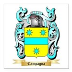 Campagna Square Car Magnet 3