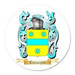 Campagna Round Car Magnet