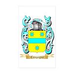 Campagna Sticker (Rectangle 50 pk)
