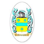 Campagna Sticker (Oval 50 pk)