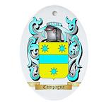 Campagna Ornament (Oval)