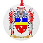 Campa Round Ornament