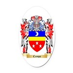 Campa Oval Car Magnet