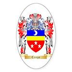 Campa Sticker (Oval 50 pk)