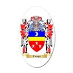 Campa 35x21 Oval Wall Decal