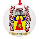 Camp Round Ornament