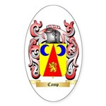 Camp Sticker (Oval 50 pk)