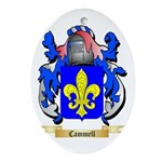 Cammell Ornament (Oval)