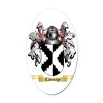 Cammage Oval Car Magnet