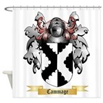 Cammage Shower Curtain