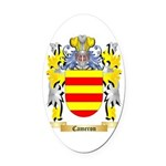 Cameron Oval Car Magnet