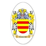 Cameron Sticker (Oval 10 pk)