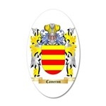 Cameron 20x12 Oval Wall Decal