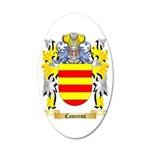 Cameron 35x21 Oval Wall Decal