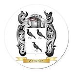 Camerino Round Car Magnet
