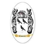 Camera Sticker (Oval 10 pk)