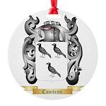 Cambron Round Ornament