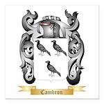 Cambron Square Car Magnet 3