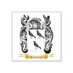 Cambron Square Sticker 3