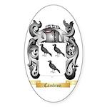 Cambron Sticker (Oval)