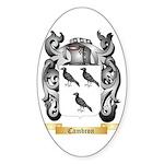 Cambron Sticker (Oval 50 pk)