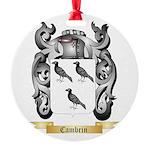 Cambrin Round Ornament